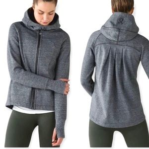 Lululemon Pleat To Street Hoodie Size 2 / 4 Grey